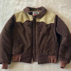 Vintage Levi's corduroy western style jacket